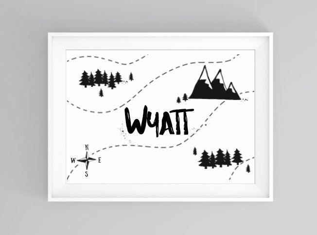 Adventure map | print