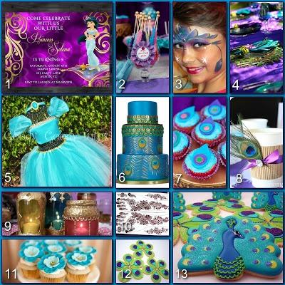 Disney Donna Kay: Disney Party Boards - Princess Jasmine Party 2