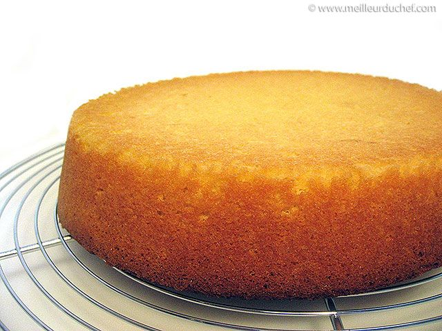 Genoise cake recipe | step by step picture