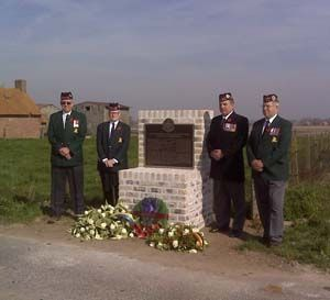 The 48th Highlanders of Canada were honoured as a new memorial plaque was unveiled in Belgium Saturday to commemorate the Second Battle of Ypres in 1915.