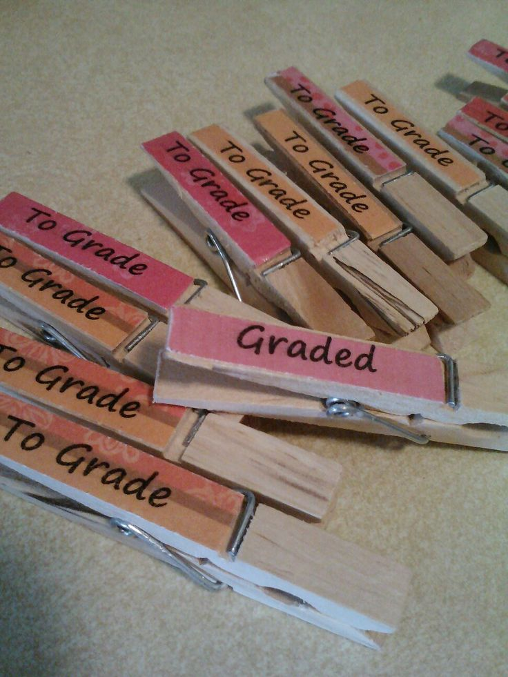 DIY - Teaching idea...organizing school papers.