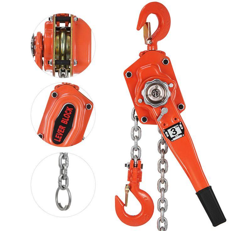 eBay Sponsored 3t Lever Block 5ft Chain Hoist Puller
