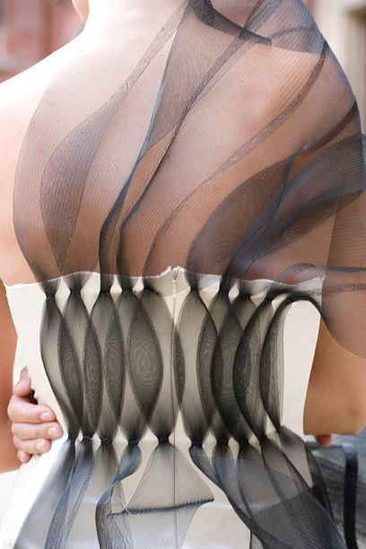 Use of Fabric Manipulation to create colour contrast and textured patterns- Gigi…