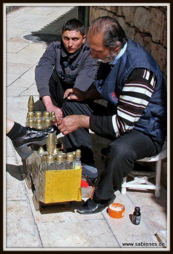 Schuhputzer in Antalya