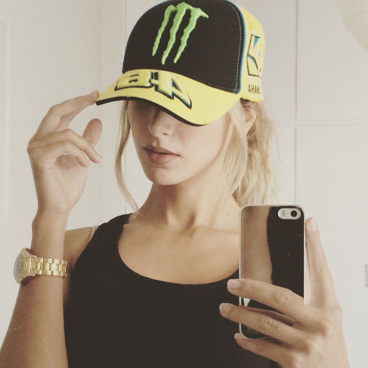 I looove my VR46 hat! Go go doctor!  #vr46 #valentinorossi #motogp