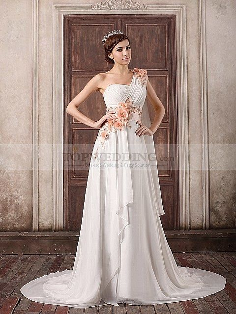 56 best colour me pretty wedding dresses images on for Affordable non traditional wedding dresses