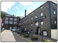 A photo of the Oban Whisky Distillery in Oban