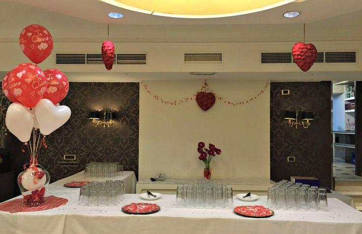 Todo preparado en el Hotel Carmen para disfrutar de la noche más romántica del año. ¡Feliz San Valentín!  All is ready to enjoy the most romantic night of the year at the Hotel Carmen. Happy Valentines!