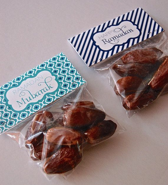 Ramadan Treat Bag Toppers 4 Inches Istanbul door NorisaDesigns