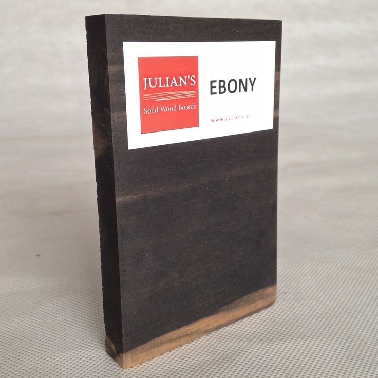 EBONY wood sample