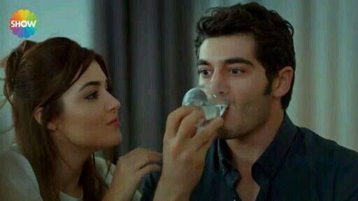 When she annoys him | Burak | Cute love stories, Hayat