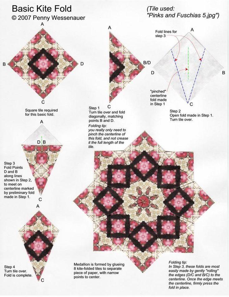 1000 images about origami mandala tea bag on pinterest. Black Bedroom Furniture Sets. Home Design Ideas
