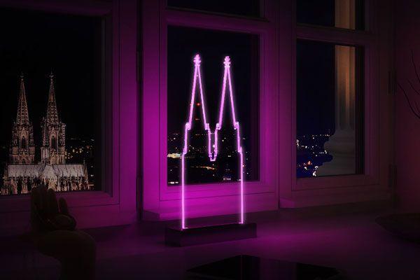 Köln Geschenk Leuchte Heimat
