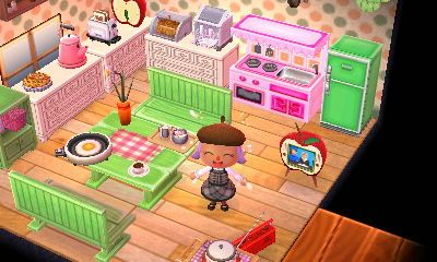 35 best images about ACNL Home Designs on Pinterest ... on Animal Crossing Kitchen Ideas  id=93465