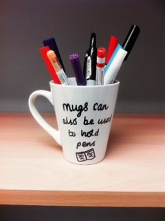 It's true, they really can. #crafts #ceramics #personalisedmug