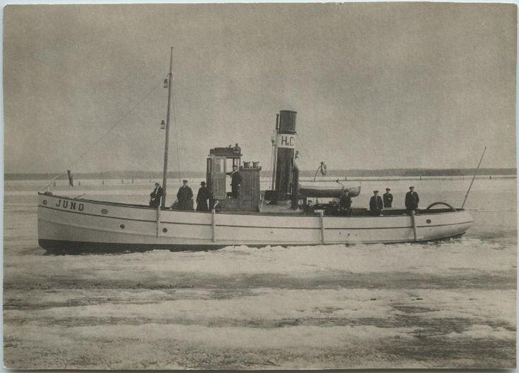 Juno, Hackmanin arkisto #höyrylaivat #steamboat