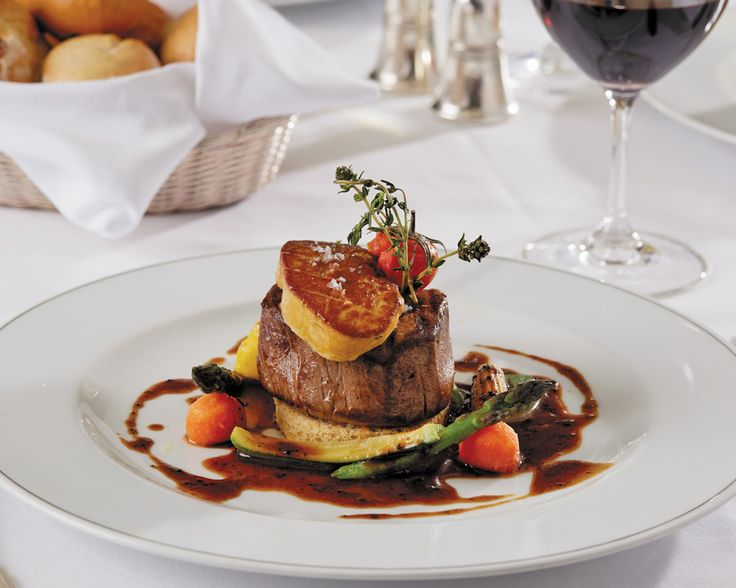 mmmm would you? Beef Tournedos Rossini as prepared by Regent Seven Seas chefs.  #Beef #Tournedos #food #luxury #dining