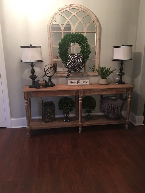 Everett Foyer Table World Market Home Decor Country House Decor Foyer Table