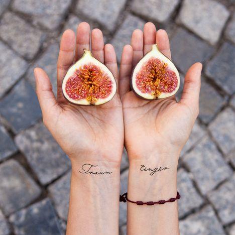 Daydreamer / Traumtänzer  Happy Temporary Tattoos www.youngandsmitten.com