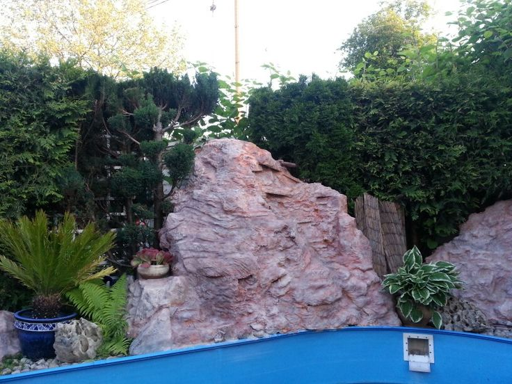 Felswand selbst gemacht