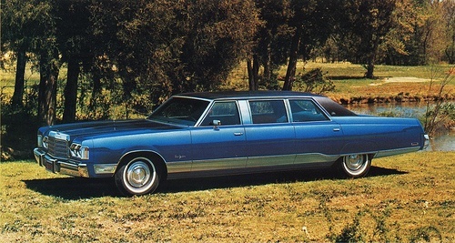 1975 Chrysler New Yorker Limousine By Armbruster Stageway