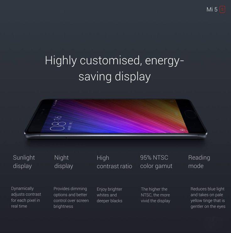 Xiaomi Mi 5s Mi5s 5.15 inch Fingerprint 3GB RAM 64GB ROM Snapdragon 821 Quad Core 4G Smartphone Gray Sale - Banggood.com