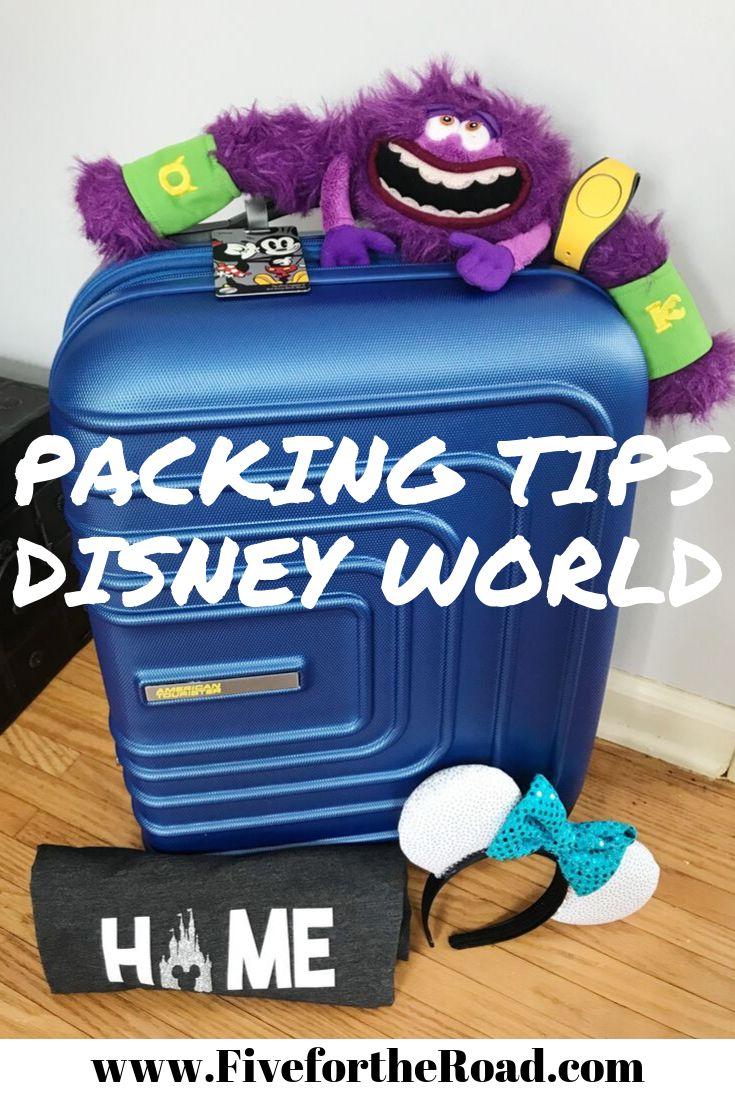 Consejos de embalaje para Disney World