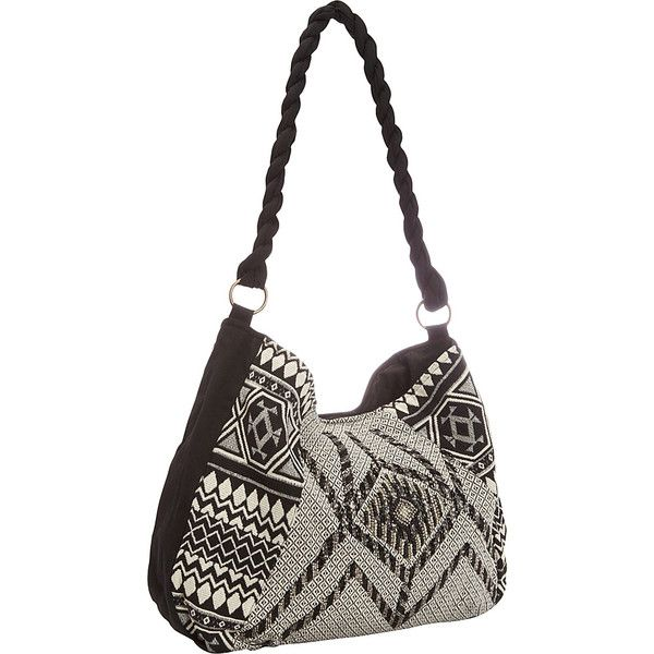 Scully Beaded Shoulder Bag with Aztec Print - Black - Shoulder Bags ($45) ❤ liked on Polyvore featuring bags, handbags, shoulder bags, print, shoulder hand bags, beaded shoulder bag, shoulder strap bags, aztec handbag and aztec shoulder bag