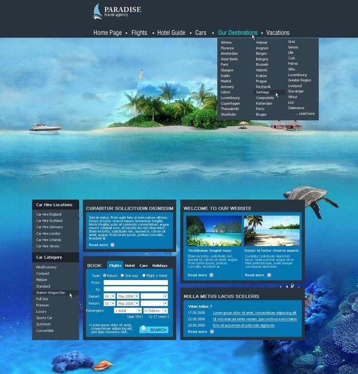 Joomla Travel Template J-Travel - Joomla Templates - CMS Junkie