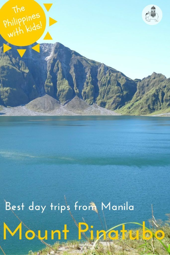 Best Day Trips from Manila: Hike Mount Pinatubo. The hike to Mount Pinatubo is a wonderful day out. Enjoy a gentle hike, crazy ash fields and the beautiful crater lake. But be prepared for a very early start!