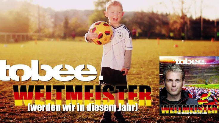 """Fussball WM Song 2014 (Spot) - Tobee mit """"Weltmeister werden wir in diesem Jahr"""". Das offizielle Musikvideo folgt umgehend auf http://YouTube.com/Fotoshooting1"""