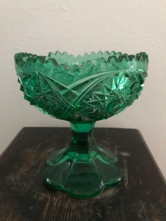Pin By Trisha Mccourt On Pretty Glass Vintage Green Glass Vintage Green Green Glass