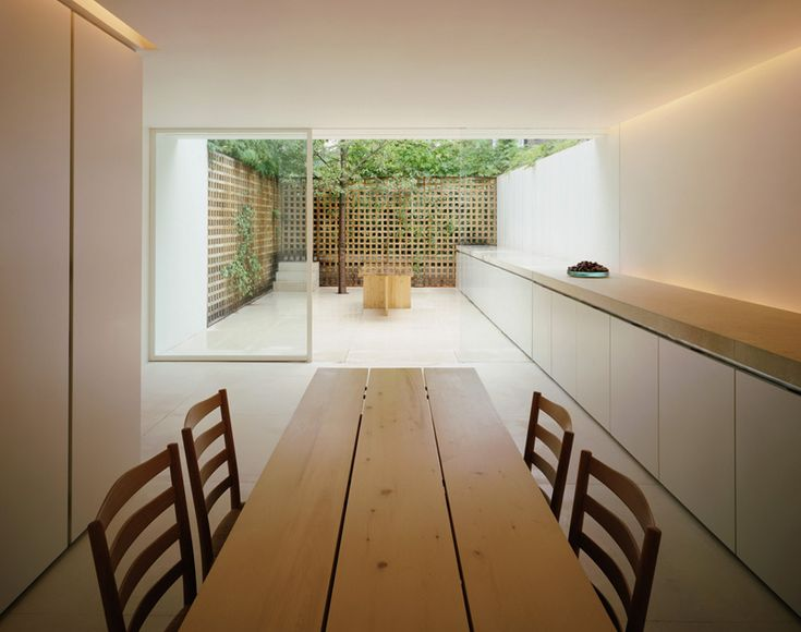 134 best john pawson kitchens and dining areas images on for Minimalist house london