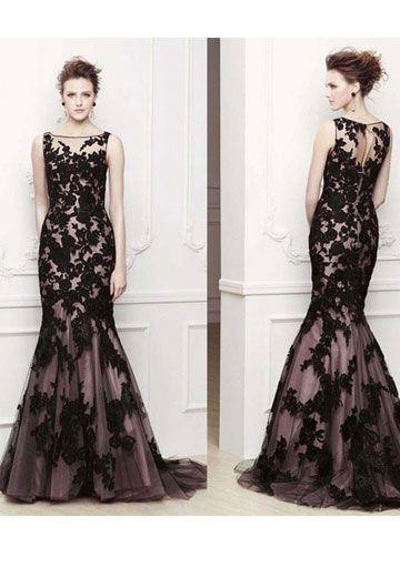 Elegant evening dress for school formals
