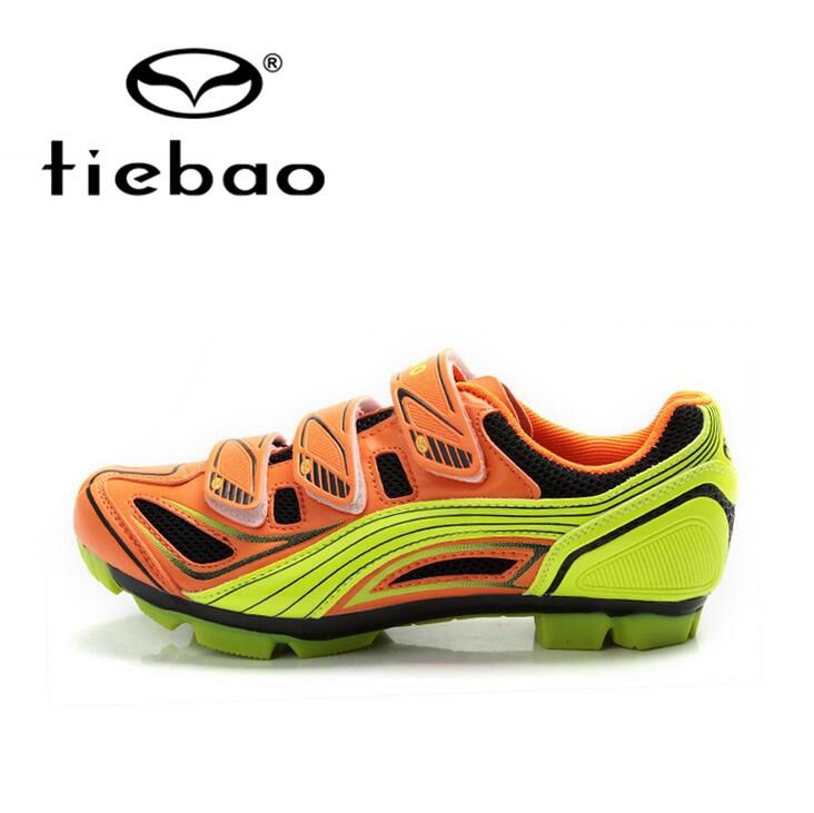(49.17$)  Buy here - http://aitad.worlditems.win/all/product.php?id=32492748158 - Tiebao Professional Men Mountain Bike Shoes Self-Locking Bicycle Cycling Shoes MTB Training Sports Shoes zapatillas ciclismo