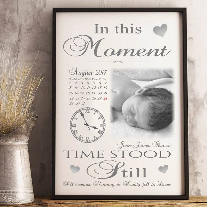 Moments in Time Childrens Keepsake.We will reposition your photo/s in the best position taking care to avoid the text covering faces etc We can also change any text and background colour and do so manually so any text/colour changes are not viewable on the website. There is a text box available on each product design for you to add any changes that you would like us to include For best results, please use the origional or best version of your photo. Please note your preview is a guide only…
