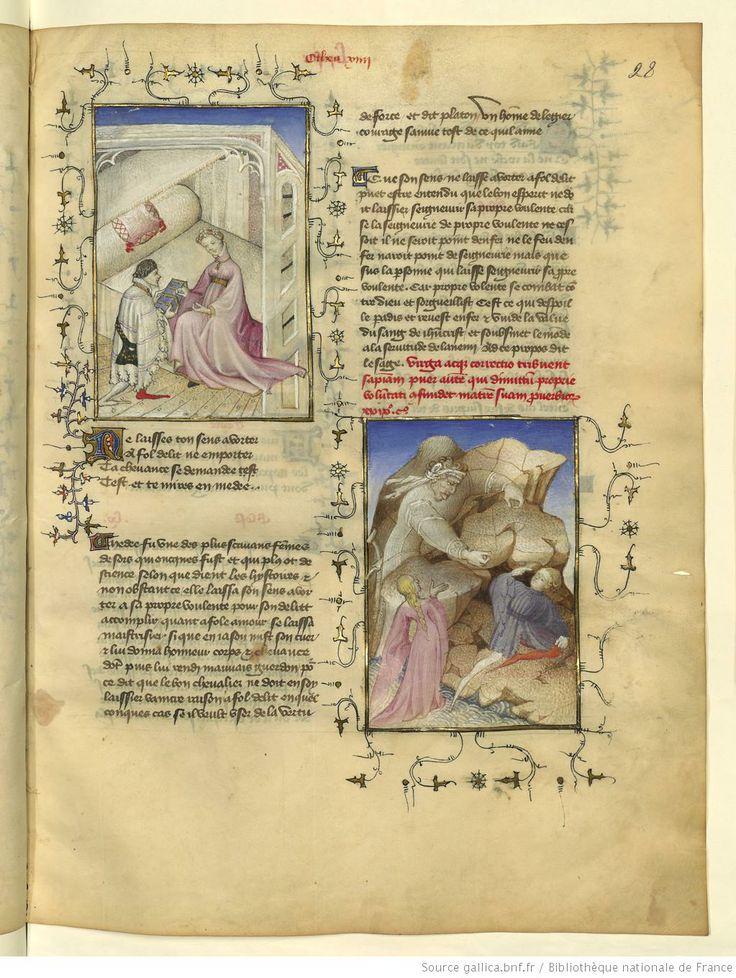 L'Epistre Othea à Hector, fol 28r