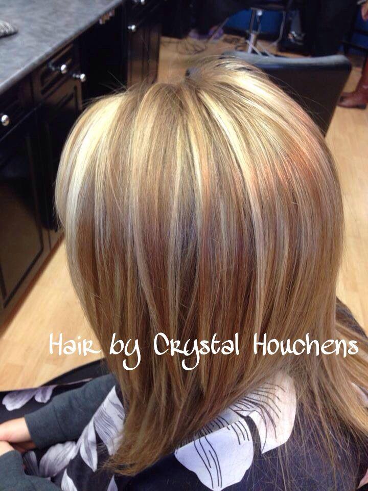Highlights, golden blonde lowlights. | Hair & beauty | Pinterest