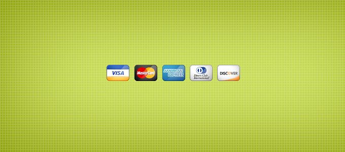 Credit Card Icons - 365psd