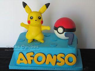 Doces Opções: O Afonso apanhou um Pikachu no seu 7º aniversário
