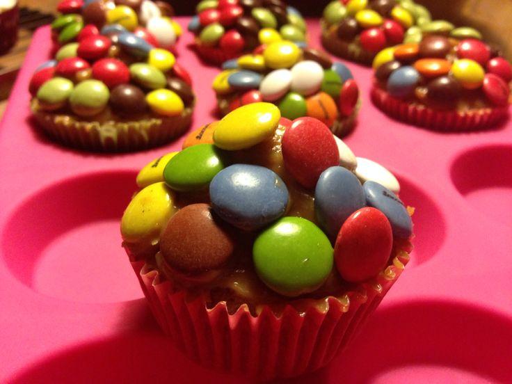 Cupcakes Lacasitos y dulce de leche