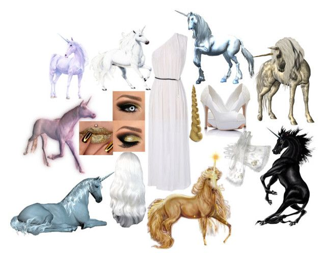 Unicorn by slytheriner on Polyvore featuring Bobby Berk Home