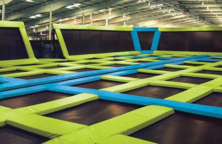 Air Trampoline Park. I'm so there.