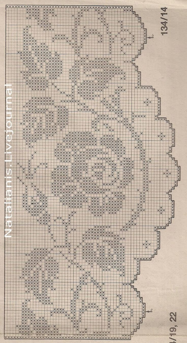 сканирование0024. Filet crochet jpg (872×1600)                                                                                                                                                      Más