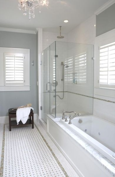 Top 25 best blue gray walls ideas on pinterest blue - Bathroom paint colors with gray tile ...