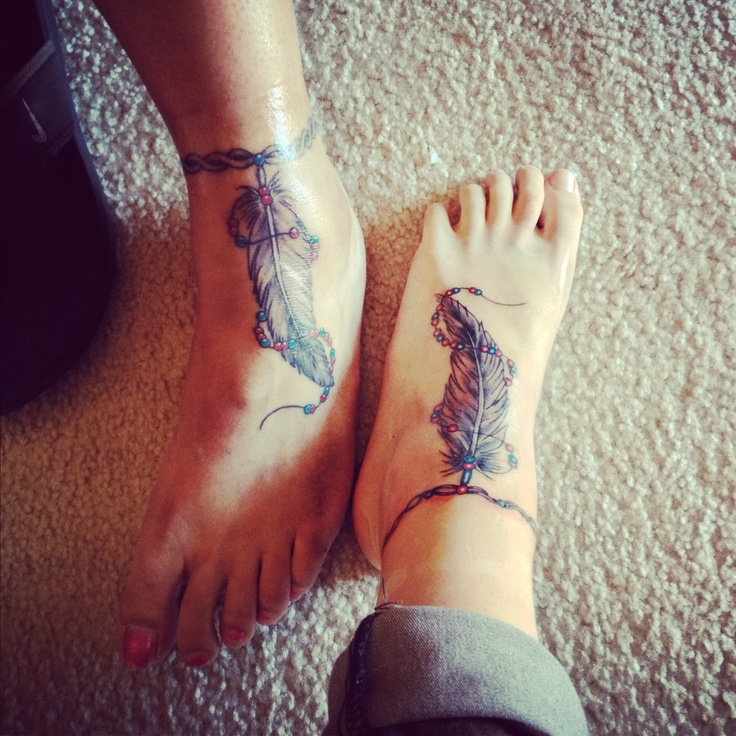 25 Best Ideas About Foot Tattoos On Pinterest: 25+ Best Ideas About Feather Tattoo Foot On Pinterest