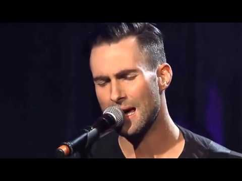 Adam Levine Maroon 5 PURPLE RAIN feat Pat Monahan Train Live HD Video Cover Performance - YouTube