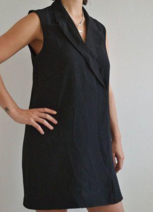 Kaufe meinen Artikel bei #Kleiderkreisel http://www.kleiderkreisel.de/damenmode/klassische-kleider/151705026-mango-suit-collection-tuxedo-dress-schwarz-gr-m