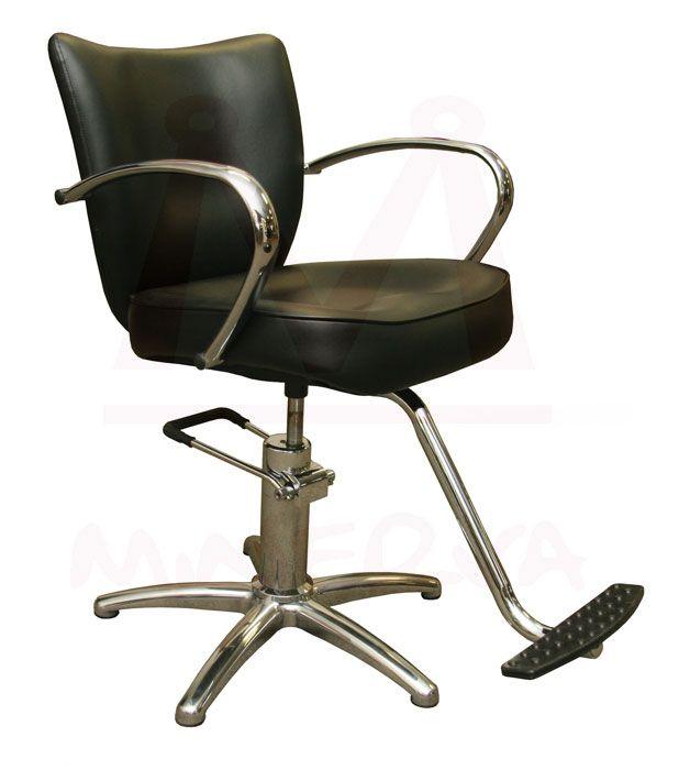 Beau Vantage Styling Chair In Black By Minerva Beauty