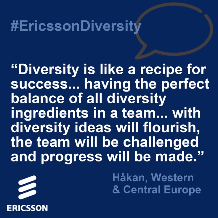 global diversity management at ericsson essay Management commitment: a message from niklas heuveldop president & ceo   program collaborating with ericsson global diversity & inclusion expanding the   deals program best practices essay in dfw/msdc (bttbu) white paper's.